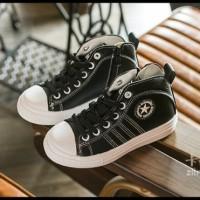 SEPATU BOOTS ANAK WARNA HITAM / BOOTS CONVERSE STAR BLACK