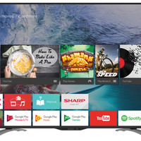 Promo TV Sharp Aquos 50 Inch Type LC-50LE580X Full HD Android TV