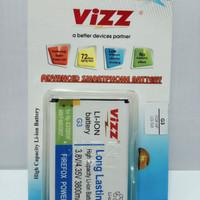 baterai batt batre battery double power vizz lg LG g3 / G3 stylus