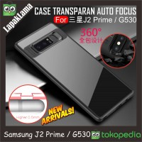 Case Auto Focus Transparan Samsung Galaxy J2 Prime / Grand Prime G530