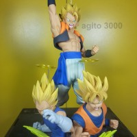 Action Figure Dragon Ball Gogeta SSJ Com Figuration Vol 2 ORI