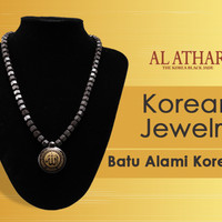 Promo - AL ATHAR Kalung Kesehatan - TASBIH - Black Jade
