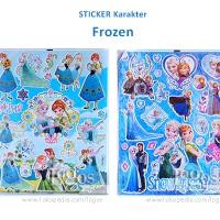 Sticker Karakter Disney Frozen Elsa. Stiker Hadiah Anak gift birthday