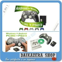 Joystick USB Wireless Gamepad 2.4G for PS2 PS3 PC Windows Android MUR