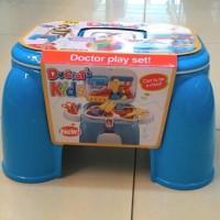 Mainan Dokter Dokteran (Doctor Set) , Bisa Buat Duduk