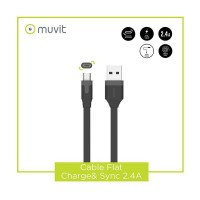 Kabel Data MuVit Cable Flat Reversible Micro USB