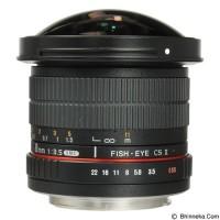 Samyang 8mm F/3.5 CS II Aspherical IF MC Fisheye DH For Canon