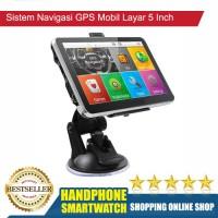 HS Sistem Navigasi GPS Mobil Layar 5 Inch