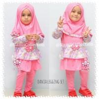 Toko baju anak online I grosir busana muslim anak terbaru I Dania set