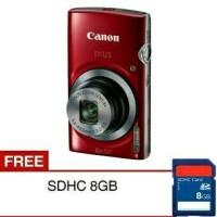 Kamera DIGITAL CANON IXUS 185 20 0 MP Bonus SDHC 8GB CASE TERMURAH