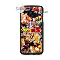 Casing Samsung S7 Edge Dragon Ball Z All Characters Hard Case Custom