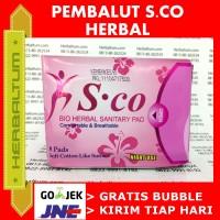 NIGHT USE - SCO - Pembalut Herbal (Pink)