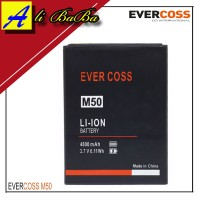 Baterai Handphone Evercoss M50 Dobel Power Original OEM Batre HP Batu