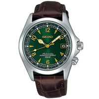 Seiko Automatic SARB017 Alpinist Sapphire Crystal Calfskin Leather JDM