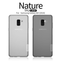 Nillkin Nature TPU Soft Case Casing Samsung Galaxy A8+ / A8 Plus 2018