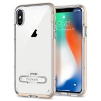 Spigen Crystal Hybrid Case for iPhone X - Black