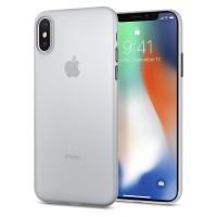 Spigen Air Skin Case for iPhone X - Black