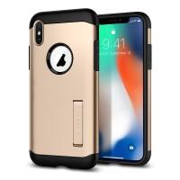 Spigen Slim Armor Case for iPhone X - Black