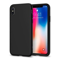 Spigen Liquid Crystal Case for iPhone X - Crystal Clear
