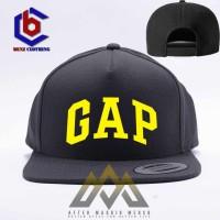 Topi Snapback GAP - Hitam