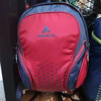 Tas Eiger Savior Shoes Backpack Bag Red Merah 910003201002 Original