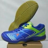Sepatu Badminton Bulutangkis Flypower Plaosan 4 Sky Royal Blue
