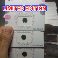 HomeButton HOME BUTTON IPhone 4 5 6 6+ 7 + 8 8+ FULL BLACK + TOUCH ID