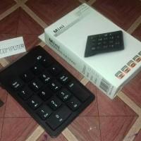 Keyboard numerik wireless numpad mini 2 4GHz 18 key