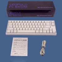 Mechanical Keyboard Leopold FC660M White PBT Keycaps (R Murah