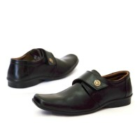 Sepatu Pantopel Casual Formal Semi Kulit Versace