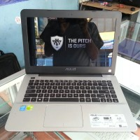 LAPTOP GAMING SECOND ASUS A455L SILVER CORE I3 HASWELL MURAH RAM 2GB H