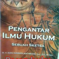 Jual Buku Pengantar Ilmu Hukum Sebuah Sketsa Murah
