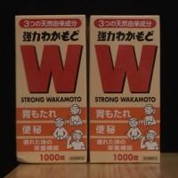Strong Wakamoto ORIGINAL Jepang Obat Maag Diare 1000 tablets