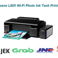 Epson L805 Wi-Fi Photo Ink Tank Printer RESMI