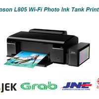 Epson L805 Wi-Fi Photo Ink Tank Printer RESMI