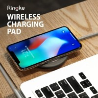 RINGKE Smart Qi Wireless Fast Charging Pad iPhone X/8/8 Plus S8/Note 8