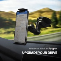 RINGKE Monster Car Mount Universal 360 Rotation Holder up to 6inch ORI
