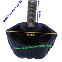 knob handle diameter 5 cm M8