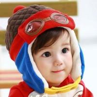 Topi Bayi Anak Topi Pilot Korea (Korean Pilot Hat)