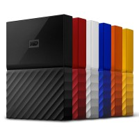 "WD MY PASSPORT PORTABLE 2.5"" 4TB/HARDDISK/HARDDISK EXTERNAL"