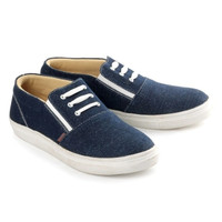 Terbaru - Kets Casual sepatu anak perempuan bahan jeans BKL lucu