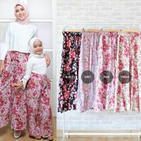 Celana kulot motif couple ibu Dan anak