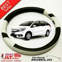 Aksesoris Mobil BARU Cover Setir Sarung Stir Mobil Honda MOBILIO PUTIH