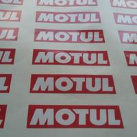 Stiker/Sticker Motul