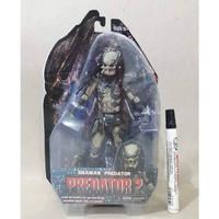 Mainan action figure Predator 2 movie series Shaman predator By neca r