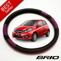 Aksesoris Mobil Cover Setir Sarung Stir Mobil Honda BRIO UNGU