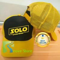 Topi Trucker Star Wars Solo Baseball Snapback - Reove Store
