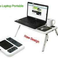 Meja Laptop Dan Notebook Lipat-Meja Laptop Portable-Meja Laptop Murah