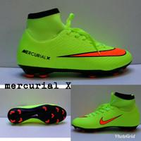 Sepatu Bola Nike Mercurial X Superfly Stabilo list Oren Grade Ori
