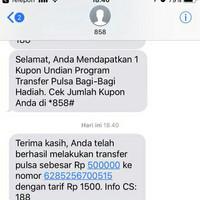 PULSA TRANSFER TELKOMSEL 125.000